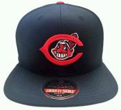"American Needle MLB ""Outfield"" Retro Flat Brim Snapback Hat Cap"