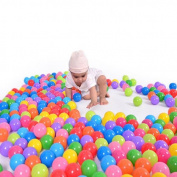 Supershopping 50x Colourful Ocean Soft Plastic Balls Swim Pool Fun Play Babys Kids Toys