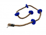 Summersdream Climbing Rope with Footrests - Swing-set Attachment