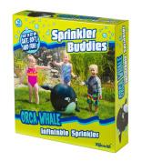 Toysmith Orca Whale Inflatable Sprinkler Buddy Toy