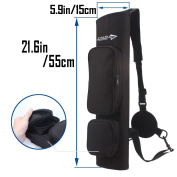 AMYIPO Light Weight Waterproof Quiver Hunting Training Archery Arrow Quiver Holder Bow Belt Shoulder Bag Pouch for Hunting Shooting Recurve Bows