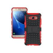 J7 Case,Galaxy J7 Case(2016 Version),K-Xiang(Armour Series) Heavy Duty Protection Hybrid Shockproof Dual Layer Protective Case Cover With Stand for Samsung Galaxy J7