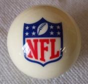 Officially Licenced NFL Logo Billiard Pool Cue Ball