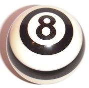 Officially Licenced NFL Striped Referee Billiard Pool Cue 8 Ball