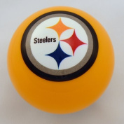 Officially Licenced NFL Pittsburgh Steelers Yellow Billiard Pool Cue Ball