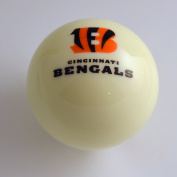 Officially Licenced NFL Cincinnati Bengals White Billiard Pool Cue Ball
