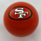 Officially Licenced NFL San Francisco 49ers Red Billiard Pool Cue Ball