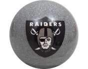 Officially Licenced NFL Oakland Raiders Billiard Pool Cue Ball 8