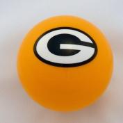 Green Bay Packers Yellow Billiard Pool Cue 8 Ball