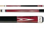 Players C-801 Birds-Eye Maple Red Points Pool/Billiard Cue Stick