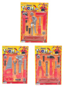 Joiners Nuts & Bolts 3-in-1 Toy Tool set - DIY Tools sets includes 3 individual Play Tool Kits
