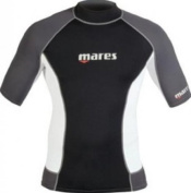 Mares Shorts Sleeve Trilastic Rash Guard