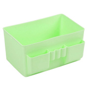 Bluelans® Plastic Desktop Storage Boxes Makeup Organiser Pen Pencil Holder Box for Women Lady