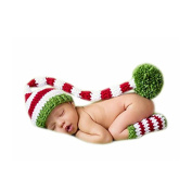 Hand Knitting Newborn Boy Girl Outfits Baby Photography Props Crochet Hats Legging