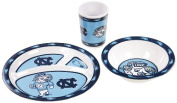 NCAA North Carolina Tar Heels Kids Dish Set