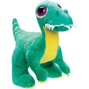 Suki Gifts Velociraptor Stuffed Toy, Green, Medium