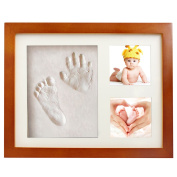 Baby Handprint Kit Footprint Frame Gift Keepsake Baby Hand and Footprint Kits Baby Print Clay
