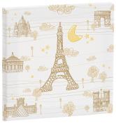 Eiffel Textile France Canvas 27 x 27 cm, Beige