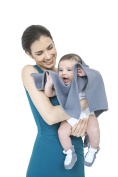 Soft MHUG Poncho, essential for the colder months of the year, it slips on and off quickly and easily, Grey