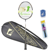 FANGCAN N90 III Woven H.M. Graphite Light Weight Professional Badminton Racket with Case and Overgrip