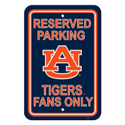 Official National Collegiate Athletic Association Fan Shop Authentic NCAA Parking Sign. Stake Your Territory with This Sign. Great for the Office or Man Cave.