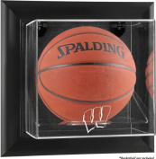 Wisconsin Badgers Framed Wall Mounted Logo Basketball Display Case