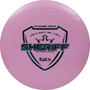 Dynamic Discs Fuzion Sheriff Distance Driver Golf Disc [Colours may vary]