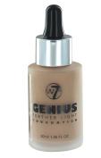 W7 Genius Feather Light Foundation 30ml-True Beige