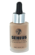 W7 Genius Feather Light Foundation 30ml-Natural Tan