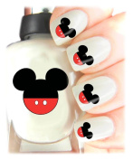 Easy to use, High Quality Nail Art Decal Stickers For Every Occasion! Ideal Christmas Present / Gift - Great Stocking Filler Mickey Mouse