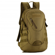 SUNVP 20L Tactical Backpack Molle Military Assault Rucksack Student School Bag Army Surplus Gear Daysack for Hiking Camping Running Trekking Outdoors Sports