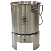 Pathfinder Stainless Steel Bush Pot Cooking Set