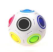 XXYsm Rainbow Magic Ball Stress Reliever Plastic Cube Twist Puzzle Toys