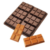 Iuhan 6 Cell Medium Chocolate Bar Candy Mould Professional Silicone Artisan Mould Cake