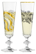 Champagne Double Champagne Flutes Set Ritzenhoff (Marlies Plank, Patricia Urquiola | 3520006 3520008 | Collection Spring 2017