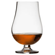 Strathspey Tumbler 25cl - Single - Whisky Tumbler with a Foot for Whisky Tasting and Nosing