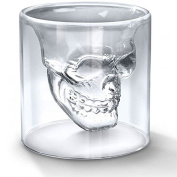 Shop Story – Skull – Shot Glass/Liqueur Whisky Vodka etc