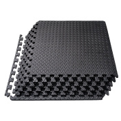 Interlocking EVA Foam Tiles Puzzle Exercise Mat, Protective Flooring for Gym Equipment and Cushion for Workouts, 2.2sqm