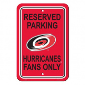 NHL Authentic Reserved Parking Sign. Great for the Office or Man Cave At Home. 30cm x 46cm Parking Sign Let's Everyone Know Who's Your Team. Stake Your Territory