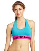 Zumba Fitness Women's Feel It Halter Bra Top