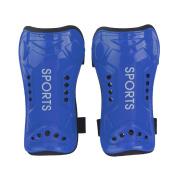 2x Soft Light Football Shin Pad Guard Sports Leg Protector for Kids Adult
