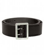 Mil-Tec Leather De Koppel 2 Dorn Police Belt