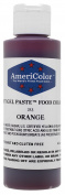 Americolor Soft Gel Paste Food Colour, 130ml, Orange by AmeriColor
