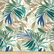 Richloom Solarium Outdoor Oasis Chambray Fabric By The Yard