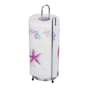 Stainless Steel Roll Tissue Paper Standing Holder Storage for Kitchen Toilet Bathroom Large Size