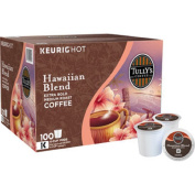 Tully's Coffee Hawaiian Blend K-Cup for Keurig Brewers