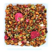Tealyra - Pomegranate - Raspberry Tea - Fruity Tea - Loose Leaf Tea - Caffeine Free - 120ml/112g