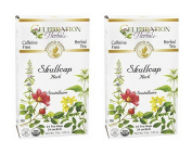 Celebration Herbals - Organic Skullcap Herb Herbal Tea - 24 Tea Bags