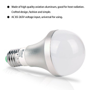 E27 Colour Changing Light Bulb 10W Dimmable RGBW LED Light Bulbs Mood Lighting with 21key Remote Control,Dual Memory Function,12 Colour Choices for Home, Party, Bar, Disco KTV, Stage Effect Lights