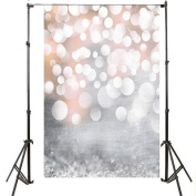 FLORATA 1m x 1.5m Photography Vinyl Studio Props Valentine's Day Photo Background Backdrop Props For Christmas Glitter Seamless Printed